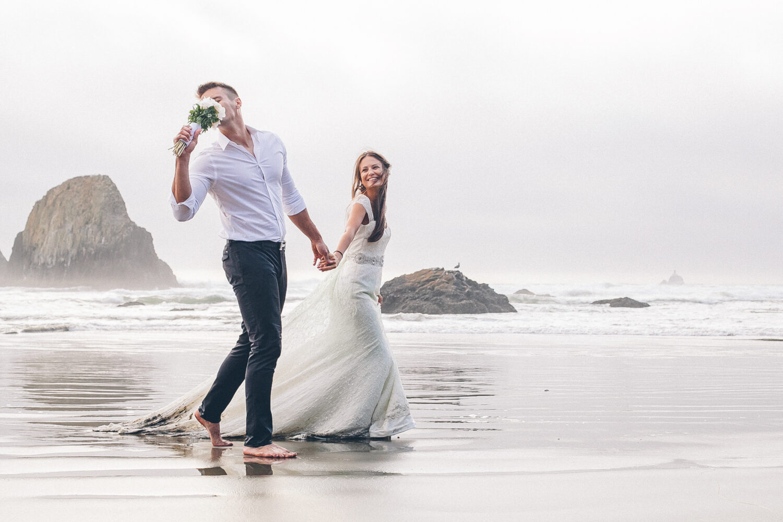 Ballina Beach Wedding